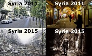 Syrien 2011-2015 - Bildquelle: www.thedailysheeple.com