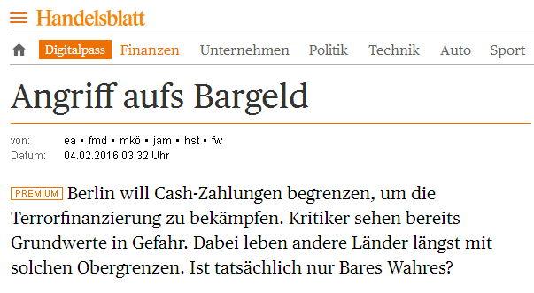 Handelsblatt - Bildquelle: Screenshot-Ausschnitt www.handelsblatt.com