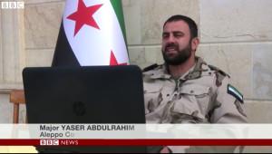 Fake FSA Commander BBC - Bildquelle landdestroyer.blogspot.de