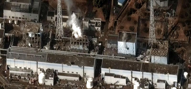 Fukushima I - Bildquelle: Wikipedia / Digital Globe