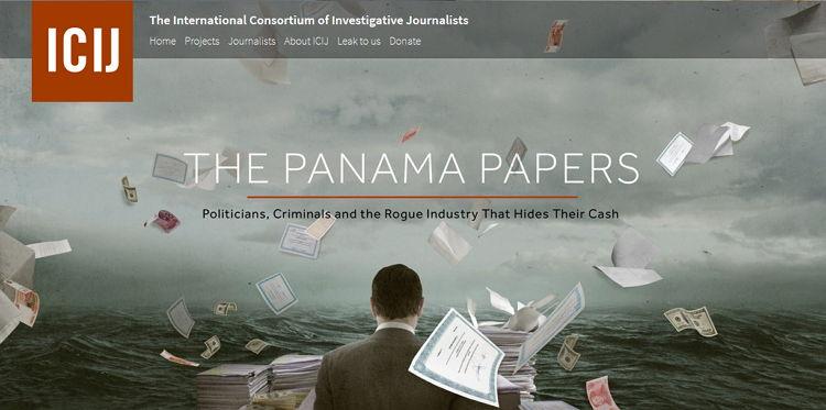 ICIJ - Panama Papers - Bildquelle: Screenshot-Ausschnitt panamapapers.icij.org