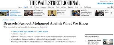 Wall Street Journal - Bildquelle: Screenshot-Ausschnitt www.wsj.com