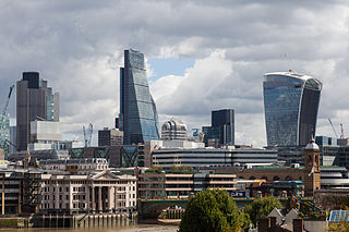 Skyline der City of London - Bildquelle: Wikipedia / Diego Delso, Wikimedia Commons, License CC-BY-SA 3.0