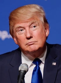 Donald Trump - Wikipedia / Michael Vadon