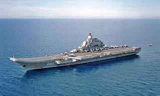 Admiral Kuznetsow - Bildquelle: Wikipedia / US DOD