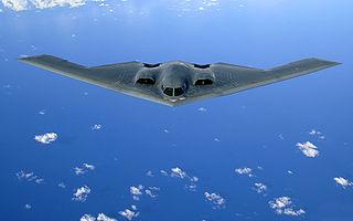 B-2 Spirit-Bomber - Bildquelle: Wikipedia / Staff Sgt. Bennie J. Davis III