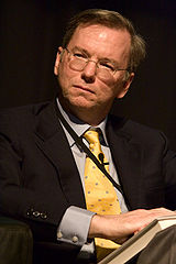 Eric Schmidt - Bildquelle: Wikipedia / Charles Haynes, CC-BY-SA-2.0