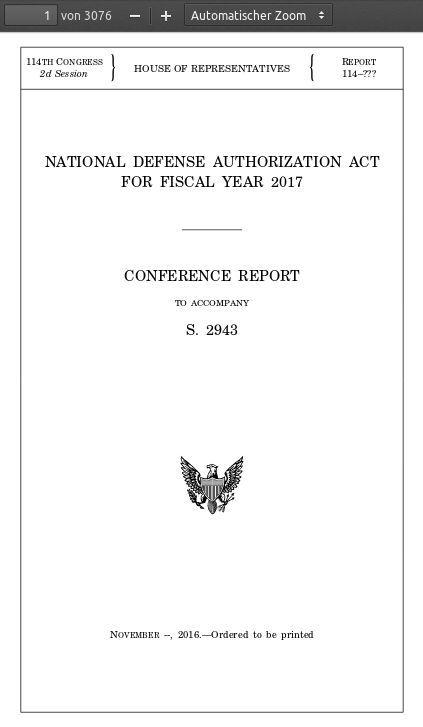 NDAA 2017 - Bildquelle: Screenshot-Ausschnitt PDF