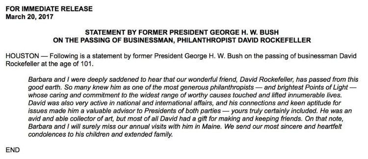 Erklärung Bush - Bildquelle: www.activistpost.com