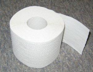 Toilettenpapier - Bildquelle: Wikipedia /Klebeband, Public Domain