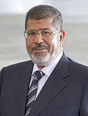 """Mohamed Mursi - Bildquelle: Wikipedia / Agência Brasil, Wilson Dias/ABr; Creative-Commons-Lizenz """"Namensnennung 3.0 Brasilien"""