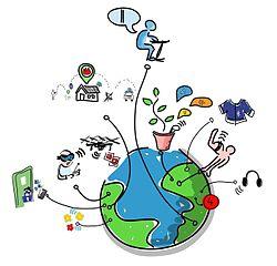 Internet der Dinge - Bildquelle: Wikipedia / Wilgengebroed on Flickr, Creative Commons Attribution 2.0 Generic