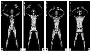 Bodyscanner - Bildquelle: Wikipedia / Transportation Security Administration., Public Domain