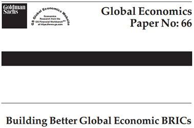 Goldman Sachs BRICS - Bildquelle: Screenshot-Ausschnitt Building Better Global Economic BRICs