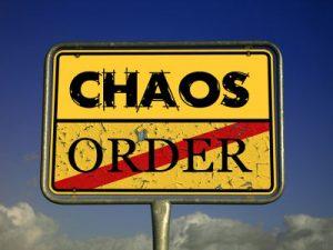 Chaos und Ordnung - Bildquelle: Pixabay/geralt; CC0 Creative Commons