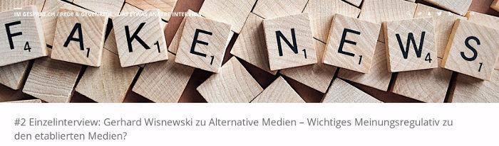 Gerhard Wisnewski im Einzelinterview - Bildquelle: www.konjunktion.info
