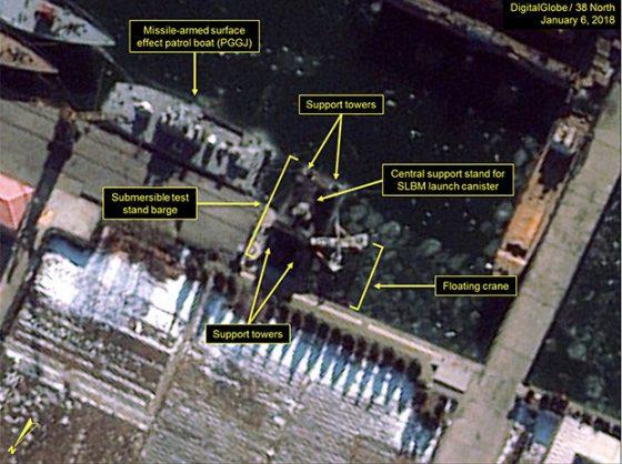 Satellitenbild Nord-Korea - Bildquelle: www.shtfplan.com