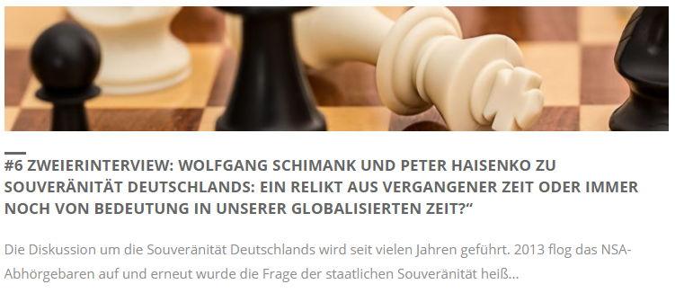 Wolfgang Schimank und Peter Haisenko - Bildquelle: www.konjunktion.info