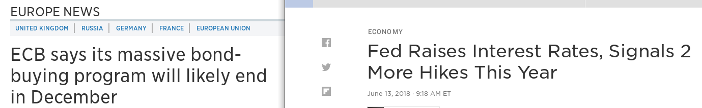 Fed und EZB - Bildquelle: Screenshot-Ausschnitt