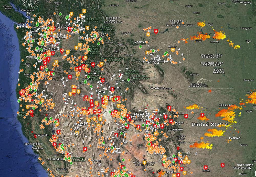 Waldbrände Alaska Karte.Hitzewelle Und Waldbrände Auf Jeden Fall Mensch Gemacht Aber