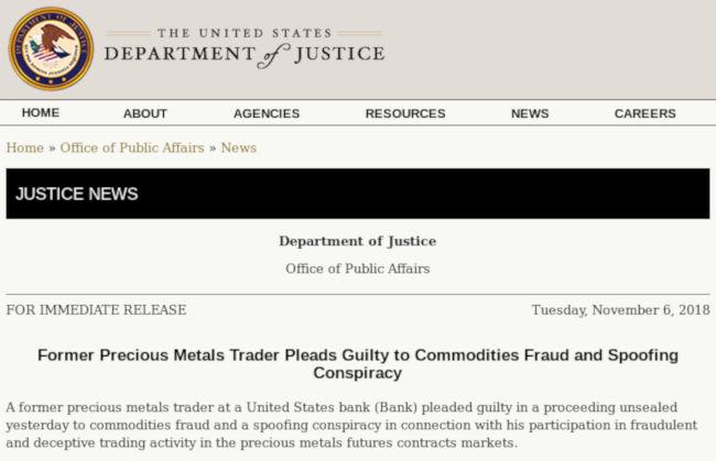 Justice News - Bildquelle: Screenshot-Ausschnitt www.justice.gov