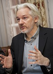 Julian Assange - Bildquelle: Wikipedia / Cancillería del Ecuador; Creative Commons Attribution-Share Alike 2.0 Generic