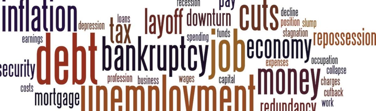 Rezession - Bildquelle: Pixabay / PublicDomainPictures; Pixabay License