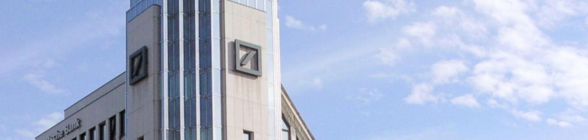 Deutsche Bank - Bildquelle: Pixabay / sheadquarters; Pixabay License