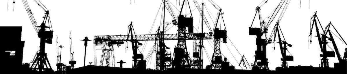 Containerhafen - Bildquelle: Pixabay / GDJ; Pixabay License