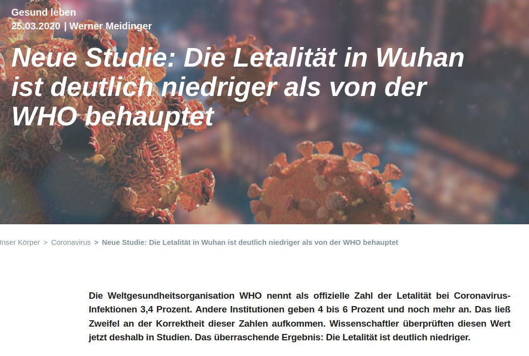 Naturstoff Medizin - Neue Studie - Bildquelle: Screenshot-Ausschnitt Naturstoff Medizin