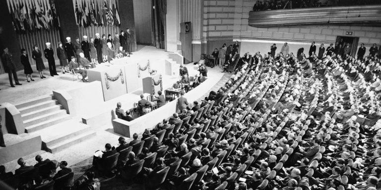 United Nations Conference of International Organization San Francisco 1945 - Bildquelle: www.activistpost.com