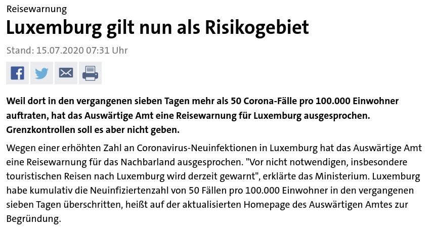 Tagesschau - Luxemburg 20200715 - Bildquelle: Screenshot-Ausschnitt Tagesschau