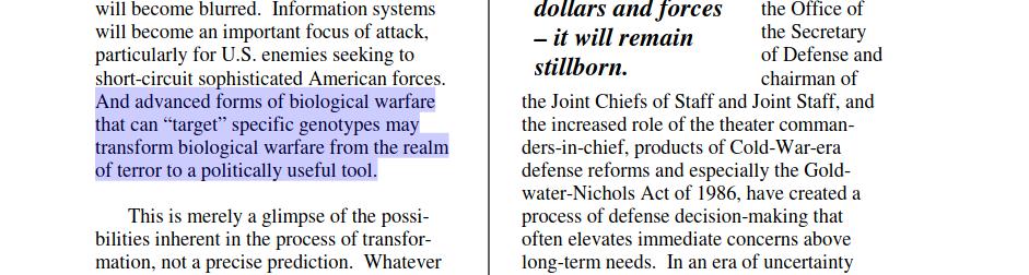 PNAC-Ausschnitt Target - Bildquelle: Screenshot-Ausschnitt PDF
